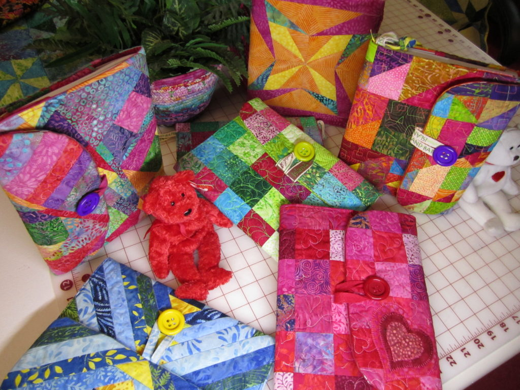 How To Make a Quilted Composition Notebook Cover - The Quilt Rambler