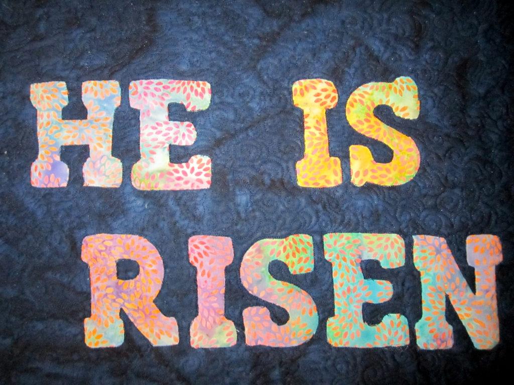 Easter Appliqué With Island Batik Fabrics - The Quilt Rambler