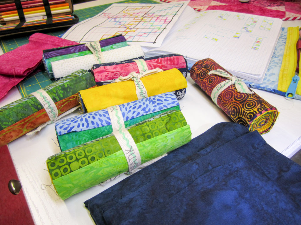 Modern Quilt Island Batik Challenge Part 1 - The Quilt Rambler