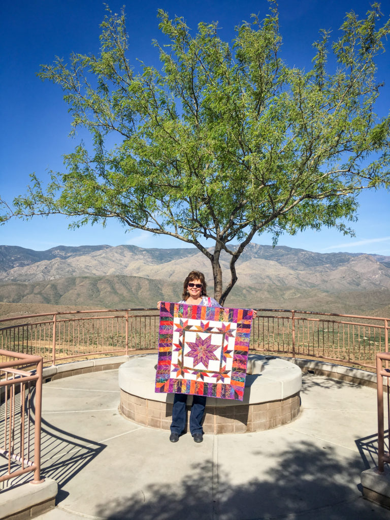 Illuminated Journey - Arizona! - The Quilt Rambler